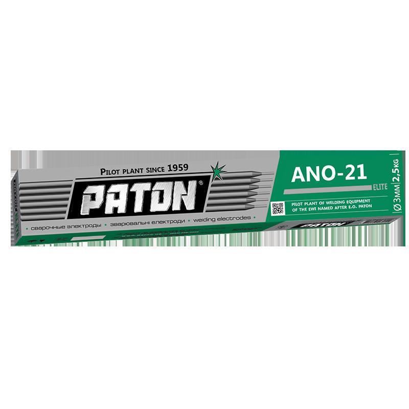 Electrodo PATON ANO 21 ELITE 6013 Rutilo